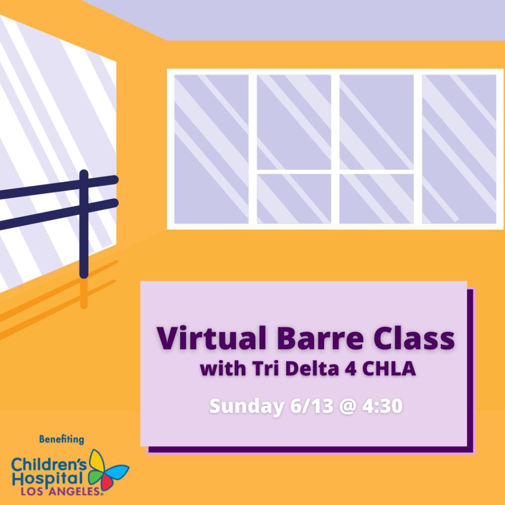 Barre with Tri Delta 4 CHLA
