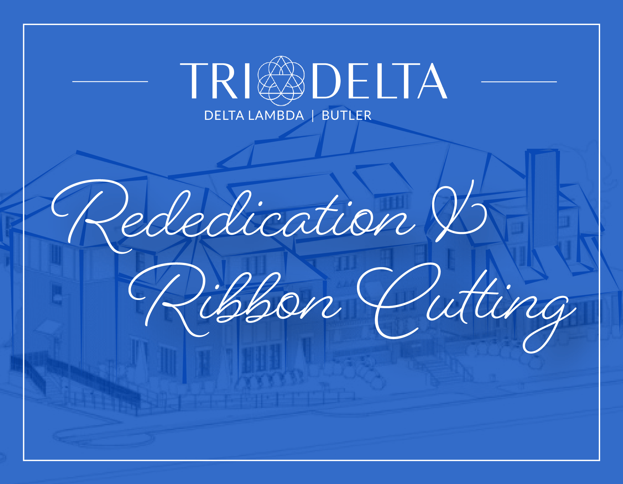 Delta Lambda Chapter House Rededication