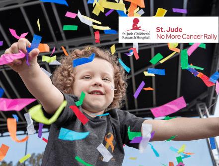St. Jude No More Cancer Rally – Sept. 2